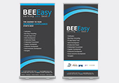 BEE Easy Pull Up Banner Design